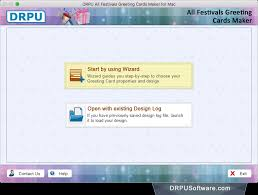 greeting card maker freeware all festivals greeting cards maker for mac by drpu software