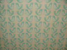 iliv duck egg scandinavian scandi birds designer curtain