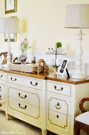 Dining Room Buffet Tables Dining Room Buffet Table Makeover At The Picket Fence