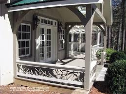 mountain laurel porch railings porch railing designs mountain