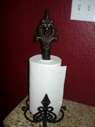 decorations diy metal paper towel holder design idea decorative
