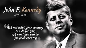 john f kennedy john f kennedy ask not what your country can do for you