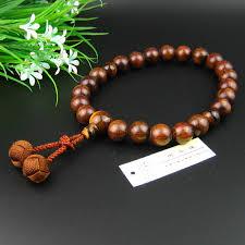 bracelet craft hand images Sandalwood wrist bracelet ojuzu craft hand made japan woven fusa jpg