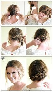 easiest type of diy hair braiding 10 hair tutorials for your mid length hair tutorials easy and