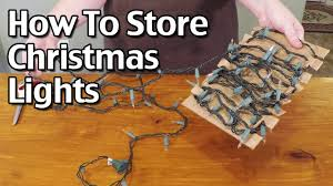 how to store christmas lights how to organize and store christmas lights youtube