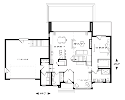 Plan 1440 Contemporary House Plan With 4 Bedrooms And 2 5 Baths Plan 1440