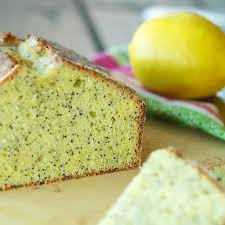 lemon poppy pound cake