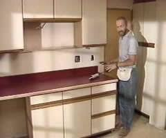 painting plastic kitchen cabinets can you paint over laminate kitchen cabinets home painting