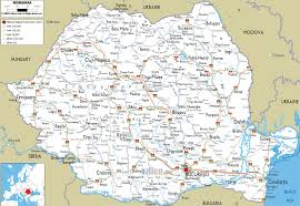 Idot Road Conditions Map Road Map Of Romania Throughout Roundtripticket Me