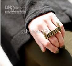 mens double rings images Two finger ring mens new image ring jpg