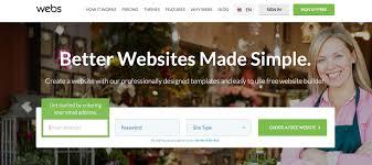 simple free web templates 10 best website builders reviewed i bought and signed up website builder webs com