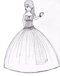prom dress drawing prom dresses sketches ocodea drawing sketch