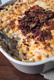 baked cheese corn with crumbled bacon a 6 bake set