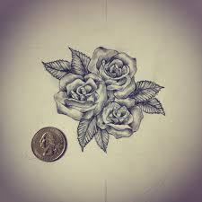 small roses tattoo sketch drawing tattoo ideas by ranz