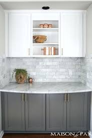 pictures of kitchens with gray cabinets gray and white backsplash white cabinet kitchen with gray ceramic