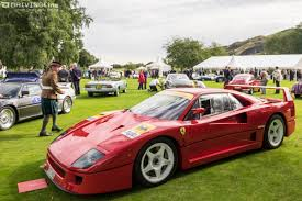 first ferrari race car the concours d u0027elegance gold standard drivingline