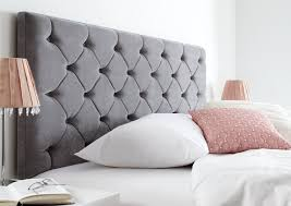 gray upholstered headboard diy modern house design gray