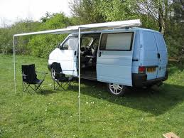 Fiamma Awnings Uk Vw Transporter T4 Syncro Camper Conversion Fiamma Awning