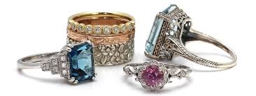 antique rings images Vintage and antique engagement rings rare earth jewelry tagged jpg