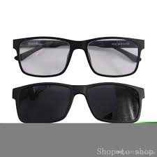 blue light prescription glasses clip on sunglasses men prescription glasses frame tr90 magnetic