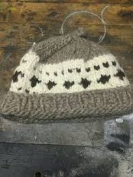 cowichan hat vintage cowichan knit toque winter hat beanie by nevermoregray