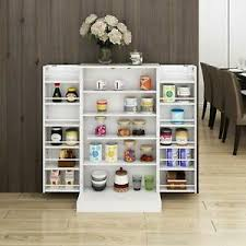wooden kitchen pantry cupboard details about white wooden kitchen pantry cabinet storage organizer food cupboard shelves door