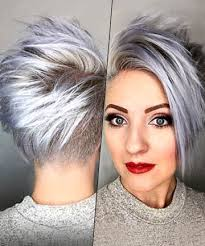 funky hairstyle for silver hair 676 best hair dare grey is gorgeous images on pinterest white