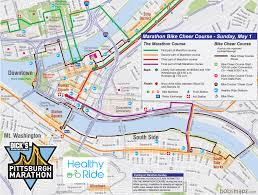 Pittsburgh Neighborhood Map Whirl U0027s 2016 Pittsburgh Marathon Spectator Guide Whirl Magazine