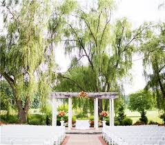 outdoor wedding venues in maryland washington dc area weddings turf valley resort