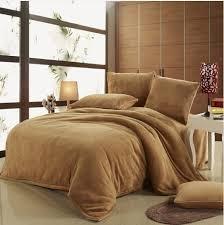 comfortable bedding 2018 coral fleece bedding set pure color bedding comfortable and
