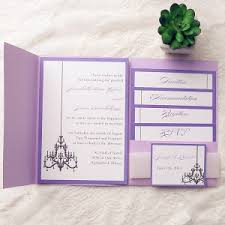 wedding invitation pockets pocket wedding invitation kits amulette jewelry
