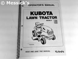 kubota t series manuals