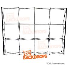 collapsible backdrop realistic brick wall comedy show portable backdrop in a bag