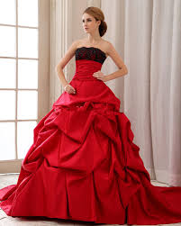 black and red lace wedding dresses ipunya