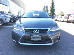 lexus for sale vancouver bc used 2014 lexus ct 200h cvt for sale in surrey british columbia