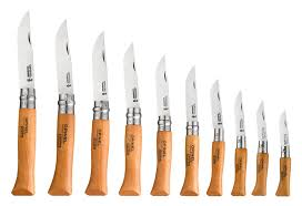 Opinel Kitchen Knives - opinel carbon steel folding knife set 10 cutlery and more
