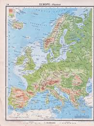 physical map of spain 1941 map europe physical iceland isles northern