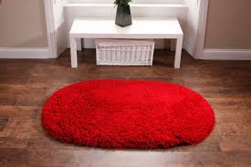 washable rugs deep shag pile red oval mats martin phillips