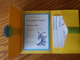 Pocket Invitation Cards Diy Wedding Invitation Kits Pocket Folds Disneyforever Hd