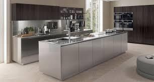moderne kche mit kochinsel moderne küche edelstahl kochinsel filofree steel euromobil spa