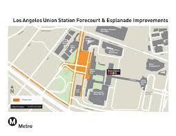 union station la union station forecourt and esplanade