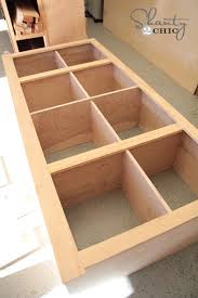 How To Build A Cabinet Box by Diy Sideboard Shanty 2 Chic