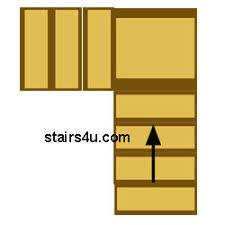 L Shaped Stairs Design L Shaped Stairs Design And Building