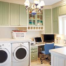 office rooms how to create an office in a laundry room at the picket fence