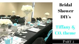 diy bridal shower centerpieces vases and serving trays dollar