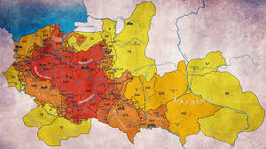 Chicago Crime Heat Map by Map Showing How Many Years The Territory Was Included In Poland