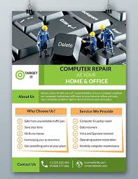computer repair flyer template word gbabogados co