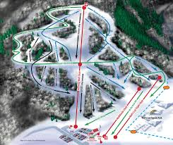 Utah Ski Resort Map by Nordic Valley Ski Resort Trail Map Utah Ski Maps