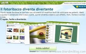 cornici foto gratis italiano modifica le tue foto e aggiungi effetti con picnik giardiniblog