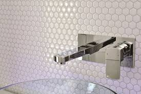 peel and stick backsplash mosaic metallic glass tile